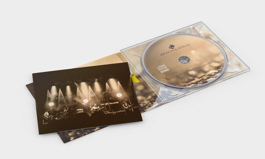 CD der Band Krach & Stille